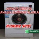 Antalya İkinci El Çamaşır Makinası Alanlar