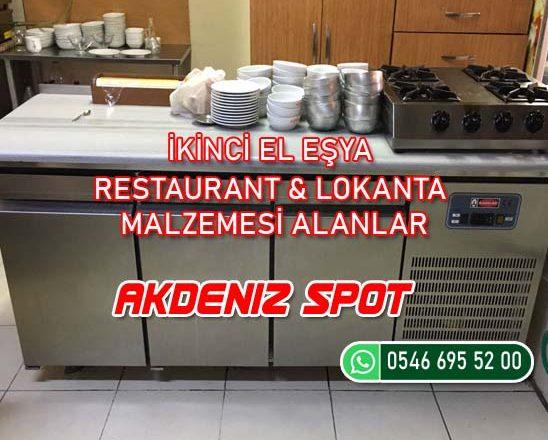 İkinci El Restaurant Malzemesi Alanlar